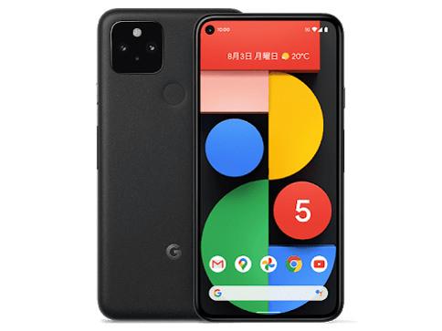 Google Pixel 5 SIMフリー [Just Black]