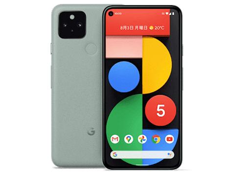 Google Pixel 5 SIMフリー [Sorta Sage]