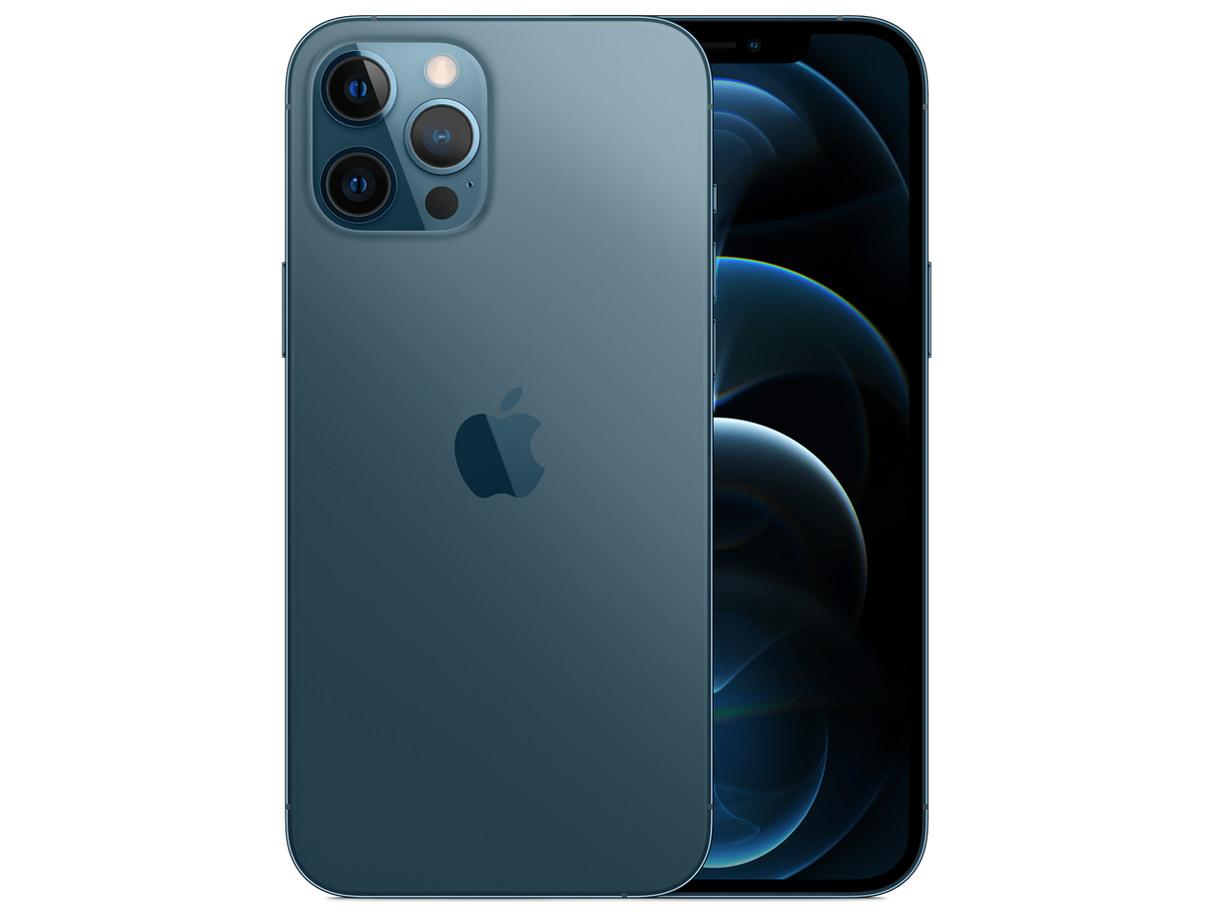 iPhone 12 Pro Max 128GB SIMフリー [パシフィックブルー]