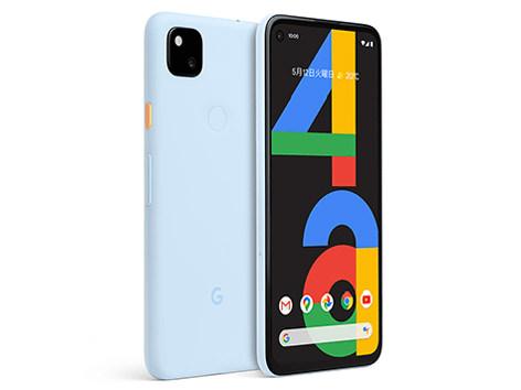 Google Pixel 4a SoftBank [Barely Blue]