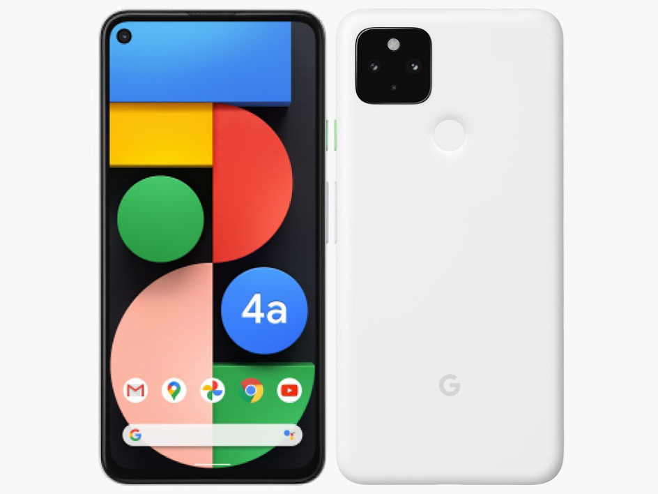 Google Pixel 4a (5G) SoftBank [Clearly White]