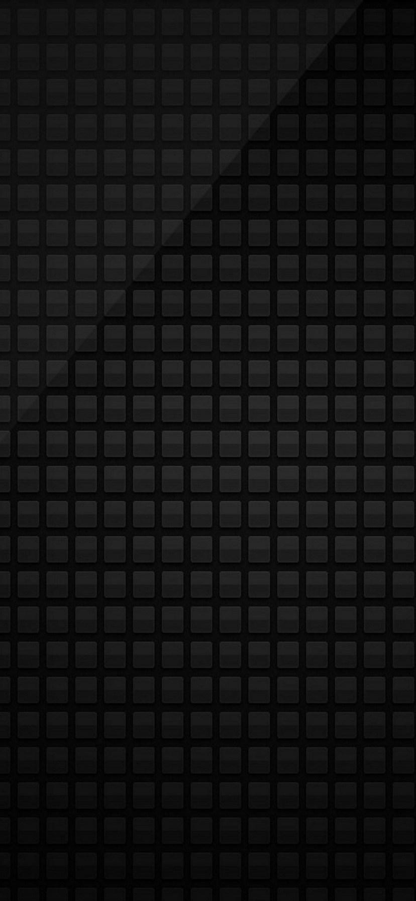 シンプルな黒のスクウェア Iphone 11 スマホ壁紙 待ち受け スマラン