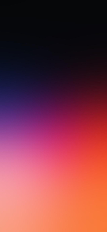 シンプル 紫 オレンジのグラデーション Zenfone 6 Android スマホ壁紙 待ち受け スマラン