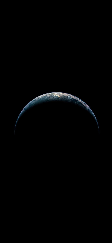 シンプルな地球 Google Pixel 5 Android スマホ壁紙 待ち受け スマラン