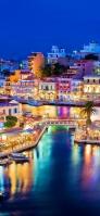 ギリシャ 海沿いの街 Redmi Note 9T Androidスマホ壁紙・待ち受け