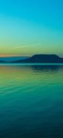 緑の空と海と島 Redmi Note 9T Androidスマホ壁紙・待ち受け