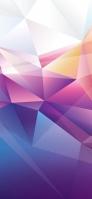 鮮やかな淡い色のポリゴン Redmi Note 9T Androidスマホ壁紙・待ち受け