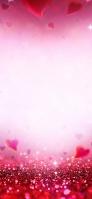Cute red heart texture Redmi 9T Android スマホ壁紙・待ち受け