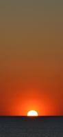 Dark sea beautiful sunset Redmi 9T Android スマホ壁紙・待ち受け
