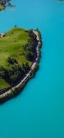 綺麗な青い海と孤島 Galaxy A30 Android 壁紙・待ち受け