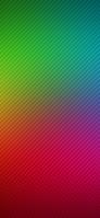 緑とピンクの罫線 iPhone 11 Pro スマホ壁紙・待ち受け
