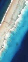 上から見たビーチ iPhone 11 Pro スマホ壁紙・待ち受け