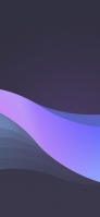 濃い紫地とパステル調の薄紫の帯 iPhone 11 Pro スマホ壁紙・待ち受け