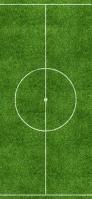 芝生のサッカーグラウンド iPhone 12 Pro スマホ壁紙・待ち受け
