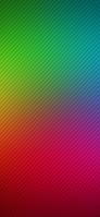 赤と緑の斜線 グラデーション iPhone 12 Pro スマホ壁紙・待ち受け