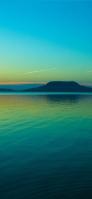 エメラルドの風景 iPhone 12 スマホ壁紙・待ち受け