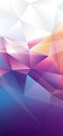 白・ピンク・青の淡いグラデーション iPhone 12 Pro スマホ壁紙・待ち受け