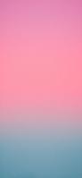 淡いピンク・ブルーのグラデーション iPhone 12 Pro スマホ壁紙・待ち受け