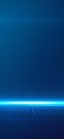 青く光るライン 区切り iPhone 12 Pro スマホ壁紙・待ち受け