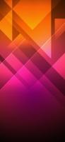 光るピンク・オレンジ テクスチャー iPhone 12 スマホ壁紙・待ち受け