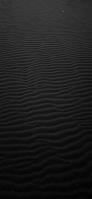 黒い砂丘 iPhone 12 Pro スマホ壁紙・待ち受け