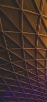 茶色と紫の金属 iPhone 12 スマホ壁紙・待ち受け
