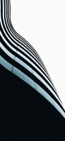 曲線的な建物 iPhone 12 スマホ壁紙・待ち受け