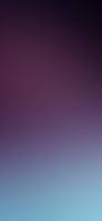淡い紫・水色のグラデーション iPhone 12 Pro スマホ壁紙・待ち受け