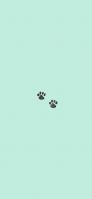 猫の足跡 アイコン iPhone 12 スマホ壁紙・待ち受け