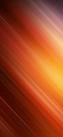 鮮やかなオレンジの斜線 iPhone 11 Pro Max スマホ壁紙・待ち受け