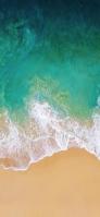 俯瞰視点 綺麗な海 iPhone 11 Pro Max スマホ壁紙・待ち受け