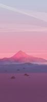 ポリゴンの山 iPhone 11 Pro Max スマホ壁紙・待ち受け