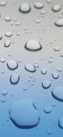 奥行のある水色のガラス iPhone 11 Pro Max スマホ壁紙・待ち受け