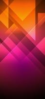 綺麗なピンクとオレンジのテクスチャー iPhone 11 Pro Max スマホ壁紙・待ち受け