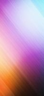 ピンク・青・オレンジの斜線 iPhone 11 Pro Max スマホ壁紙・待ち受け