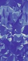 くすんだ青のポリゴン iPhone 11 Pro Max スマホ壁紙・待ち受け
