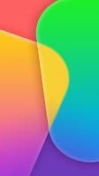 角丸の四角 カラフルなテクスチャー iPhone SE (第2世代) スマホ壁紙・待ち受け