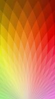 温かみのある色合いの菱形のテクスチャー iPhone SE (第2世代) スマホ壁紙・待ち受け