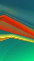 緑と赤と黄色のグラデーションライン iPhone SE (第2世代) スマホ壁紙・待ち受け