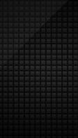 シンプルな黒のスクウェア iPhone SE (第2世代) スマホ壁紙・待ち受け