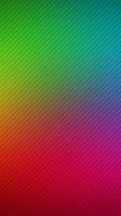 綺麗な緑とピンクのグラデーション・斜線 iPhone SE (第2世代) スマホ壁紙・待ち受け