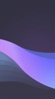 濃淡のある紫の帯 iPhone SE (第2世代) スマホ壁紙・待ち受け