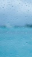 水滴がついた半透明のガラス iPhone SE (第2世代) スマホ壁紙・待ち受け