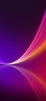 綺麗なピンクと紫のグラデーション iPhone11のスマホ壁紙・待ち受け