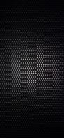 黒い穴の開いたメタル iPhone 11 スマホ壁紙・待ち受け