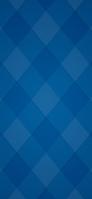 青と水色のチェック iPhone 11 スマホ壁紙・待ち受け
