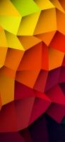 オレンジ・黄色のアート iPhone 11 スマホ壁紙・待ち受け