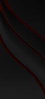 黒地 細い赤いライン iPhone 11 スマホ壁紙・待ち受け