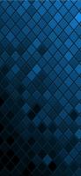 濃淡のある青のグラデーション iPhone 11 スマホ壁紙・待ち受け
