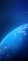 青い惑星 iPhone 11 スマホ壁紙・待ち受け